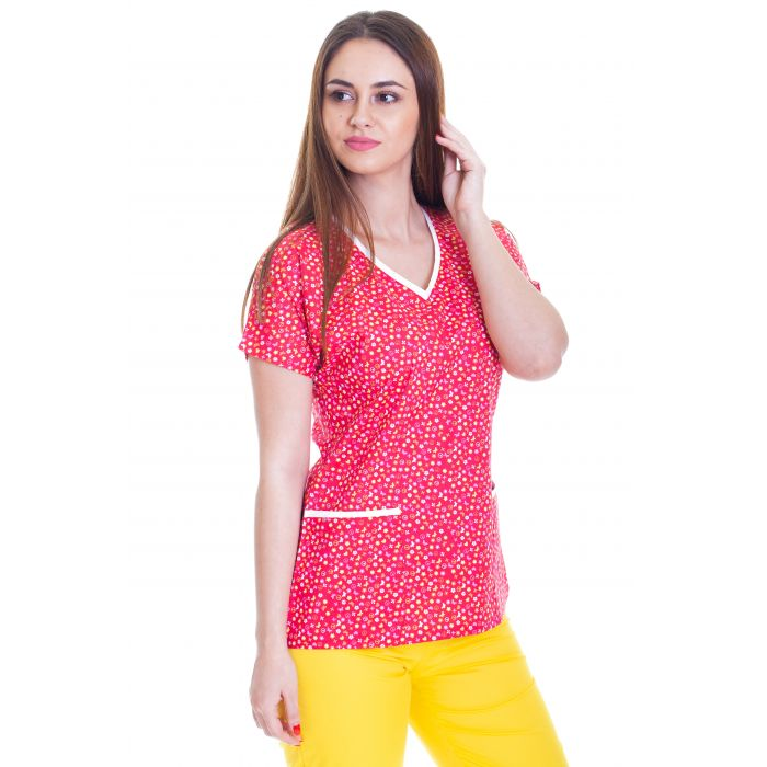 Bluza imprimata - Red Hippie Butterflies