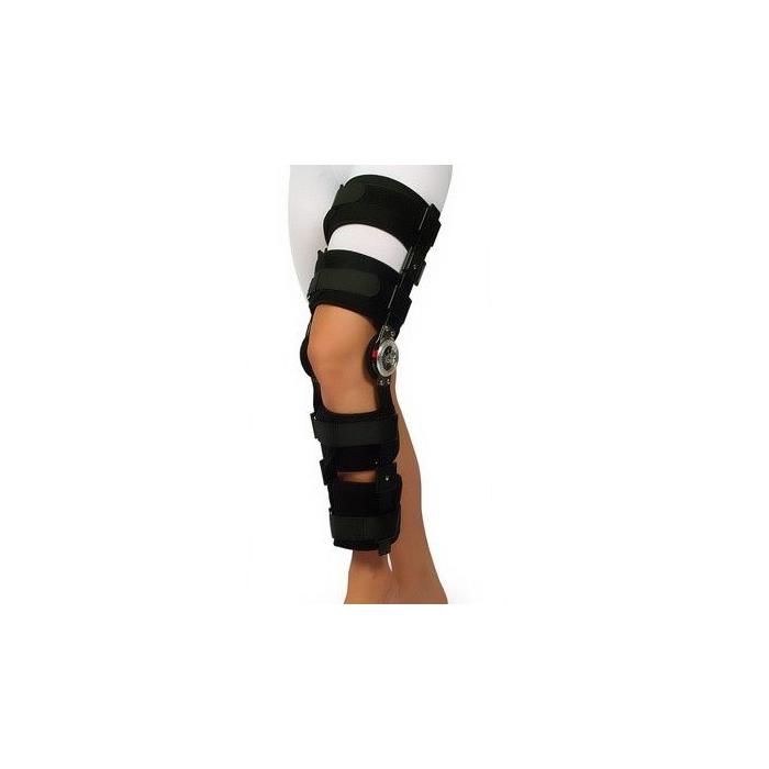 Orteza imobilizare genunchi unghi reglabil