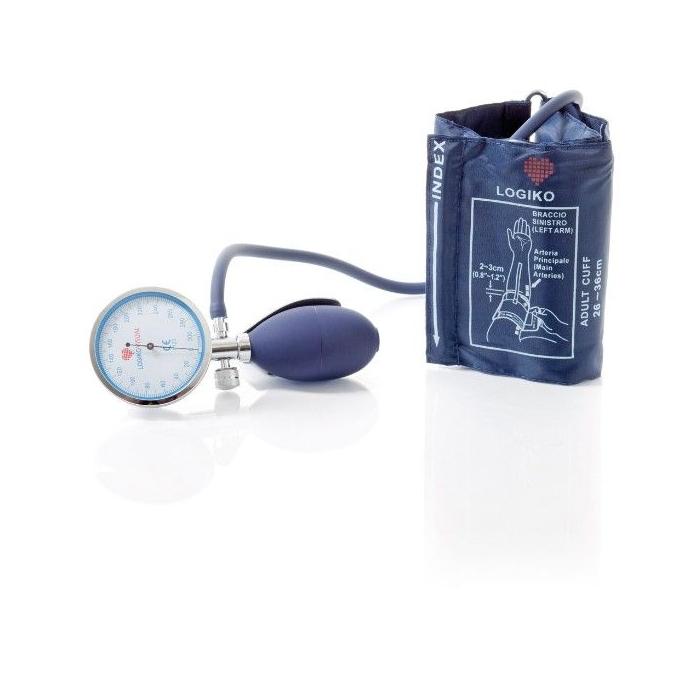 Tensiometru mecanic cu manometru la para Moretti cromat - DM345