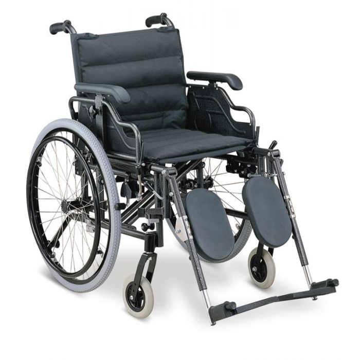 Fotoliu rulant cu sprijin gambe si manere ajustabile