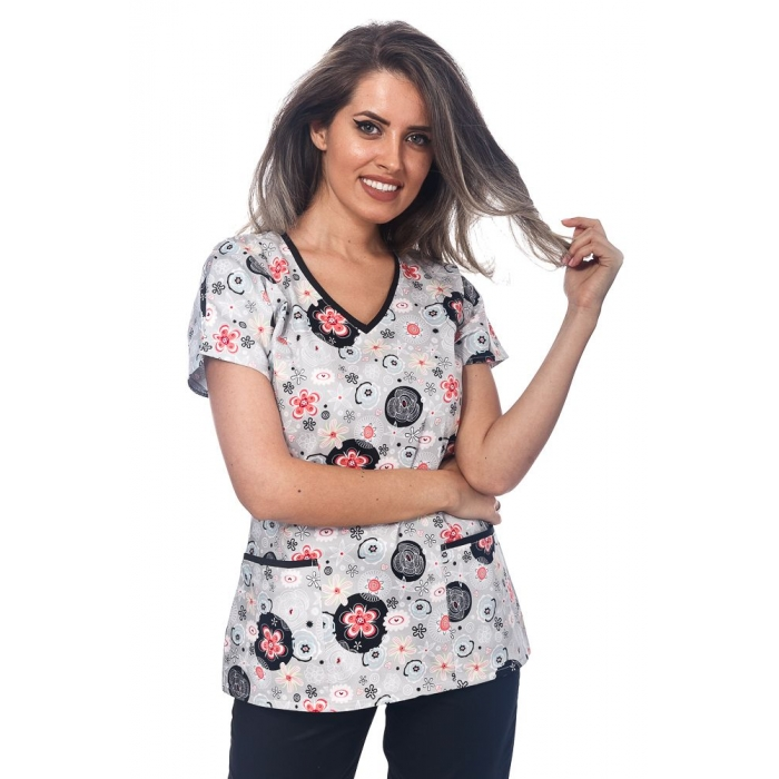 Bluza Imprimata - Floral Magic