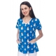 Bluza Imprimata - Blue Puppies