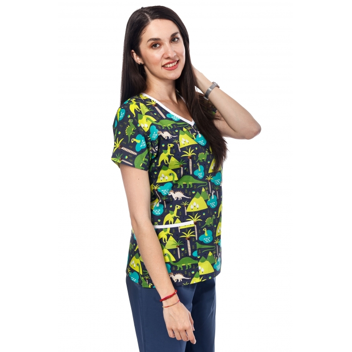 Bluza Imprimata - Dino Party