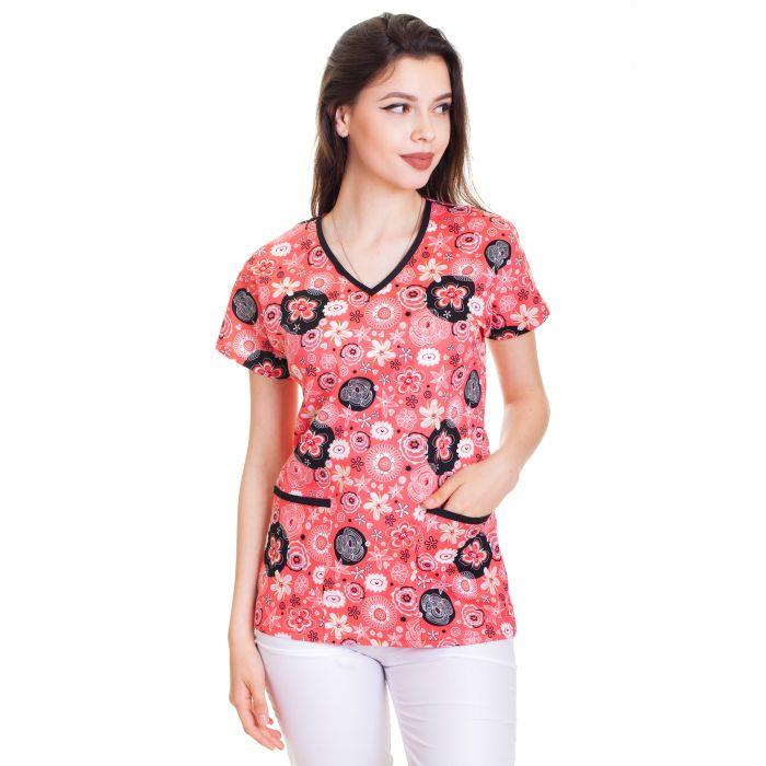 Bluza Imprimata - Rose Floral Magic